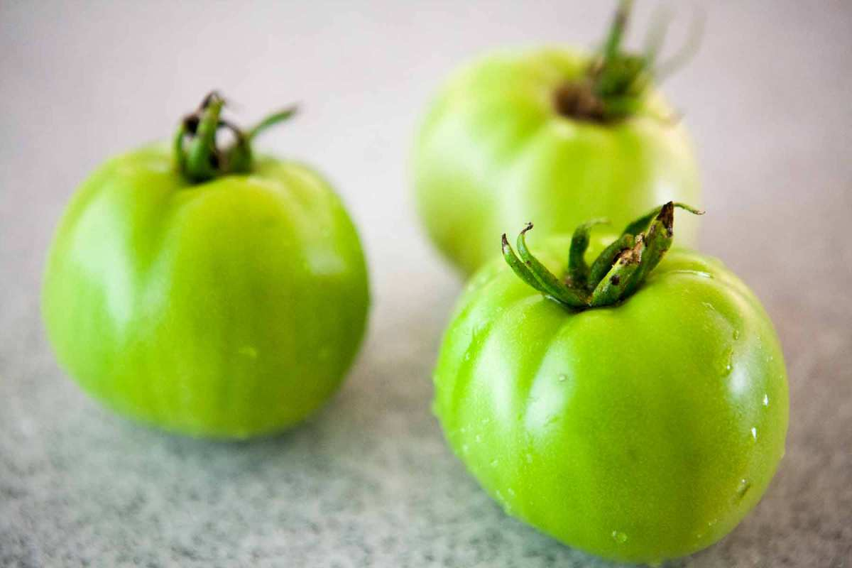You can't squeeze a green tomato ripe!